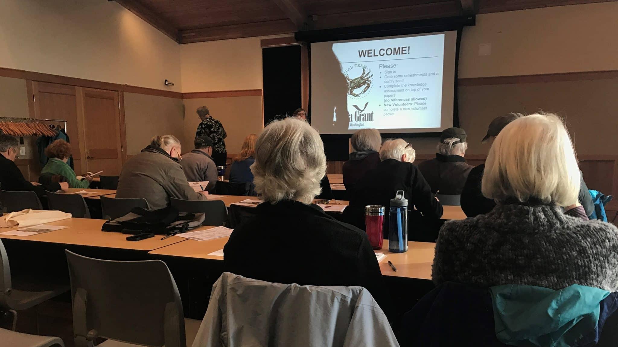 Training with the Washington Sea Grant