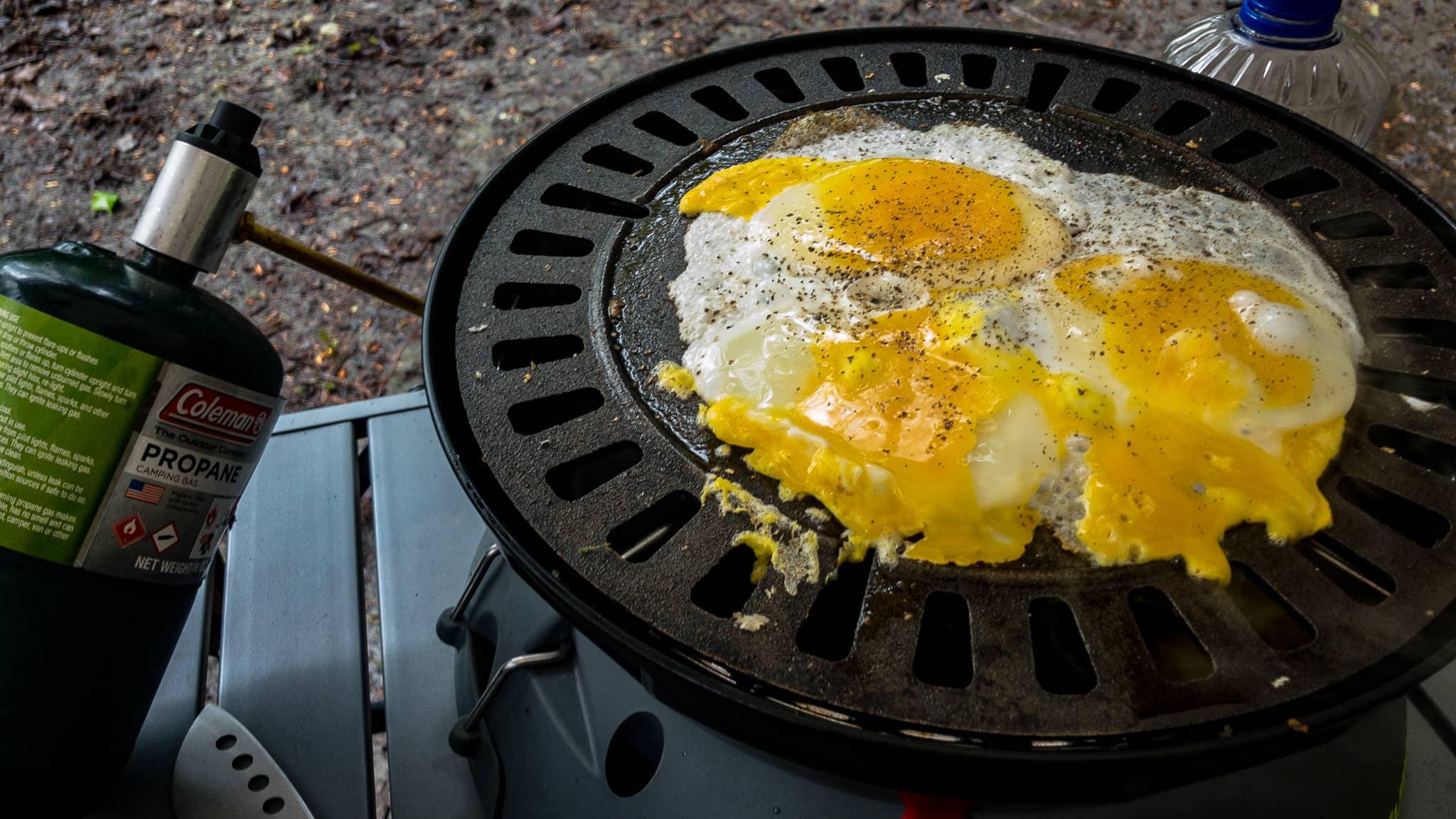 Camp Eggs