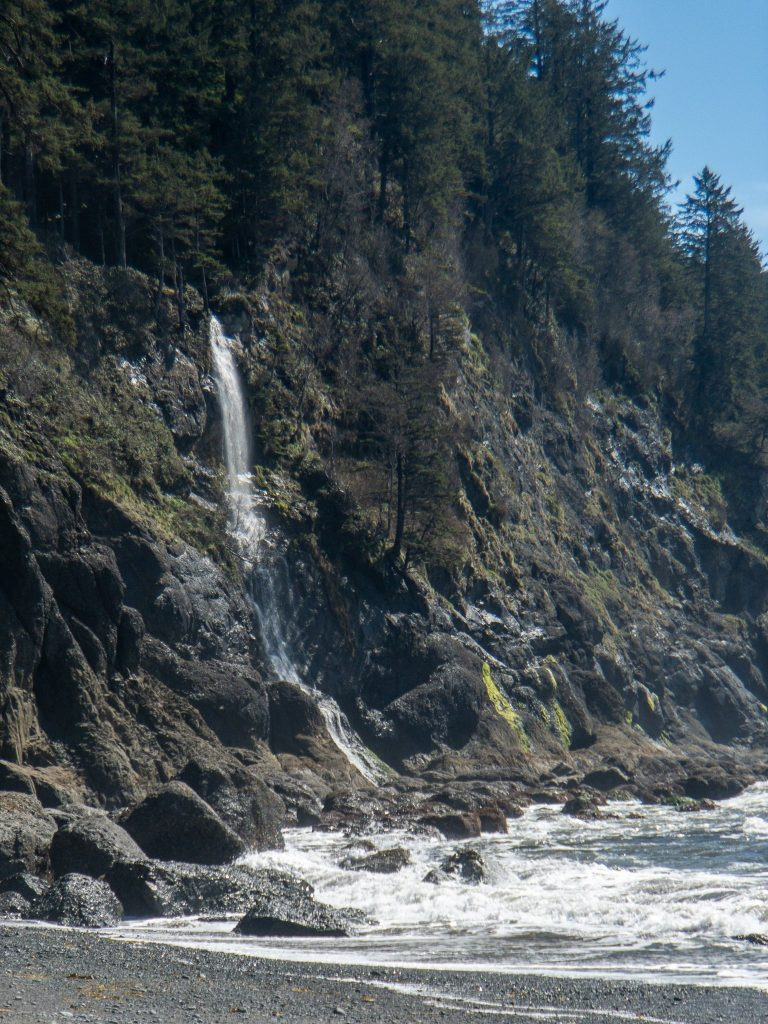 Third Beach Falls when Toleak Beach survey fails