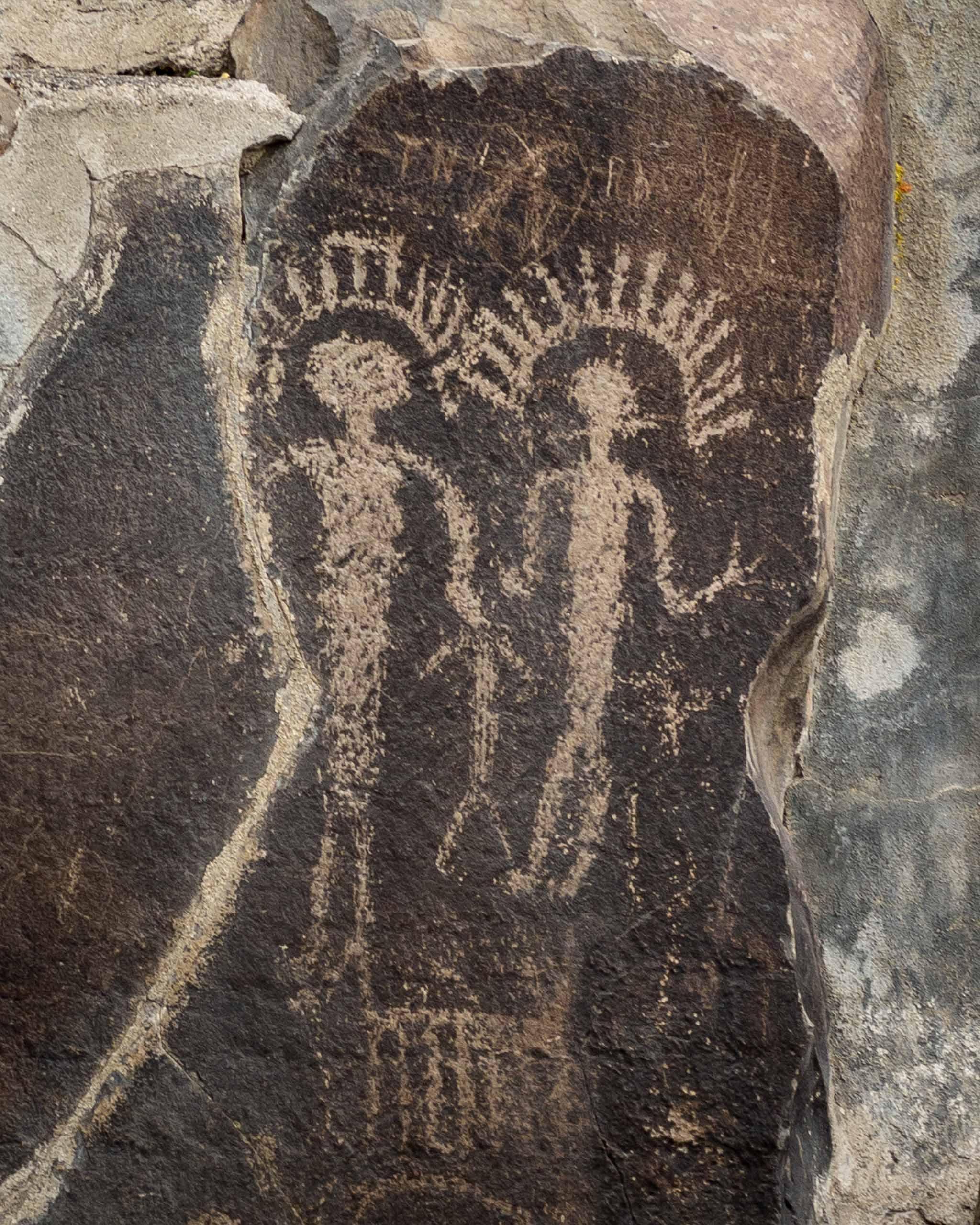 A Peek at Ancient Petroglyphs in Central Washington