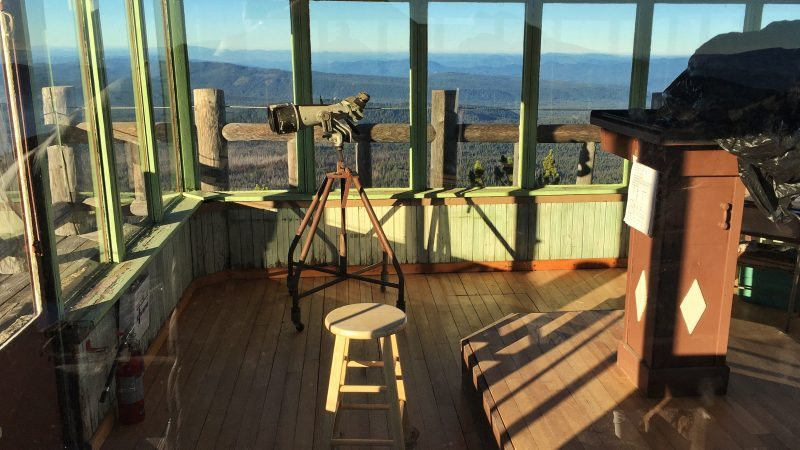 Oregon – Day 2 – Watchman Lookout Station