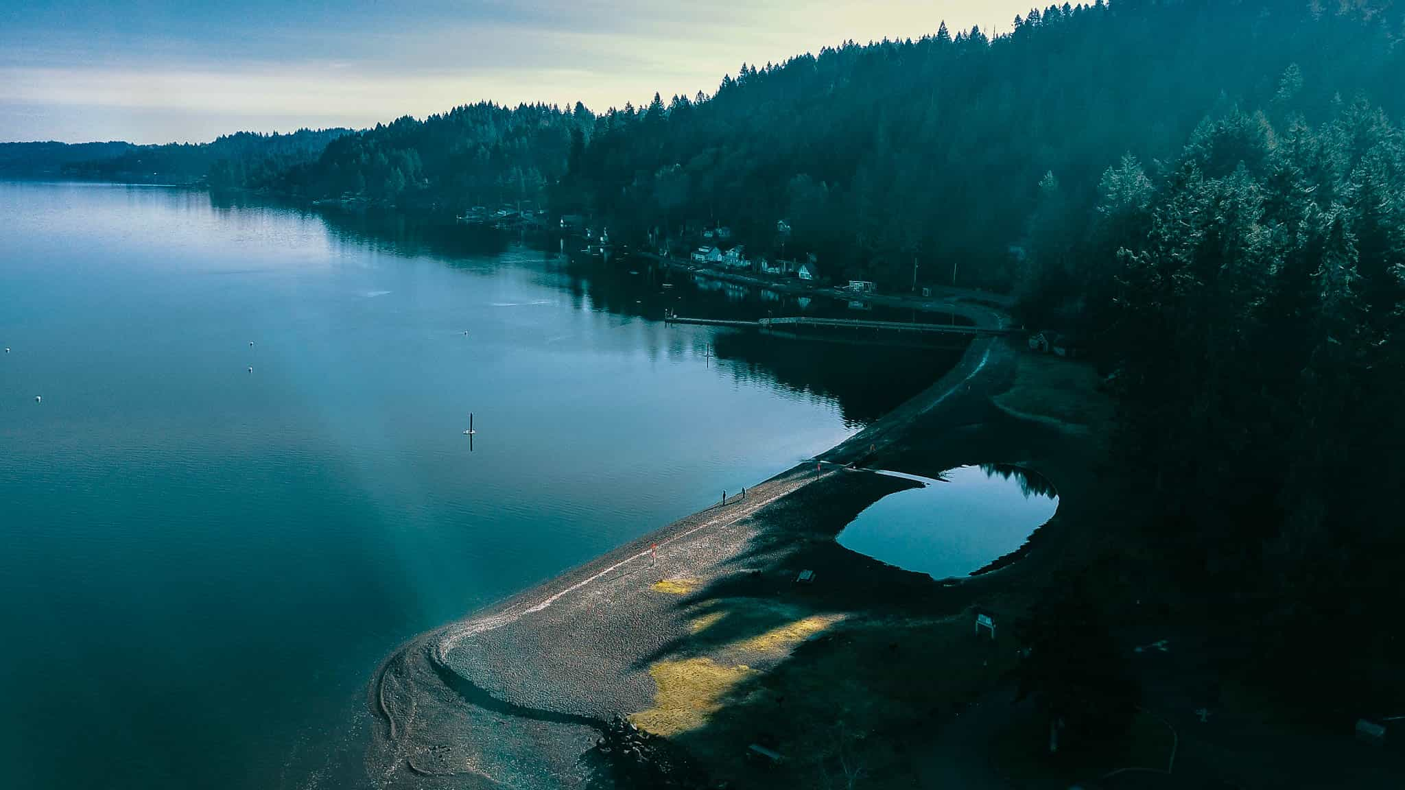 Twanoh State Park on the shores of Hood Canal.