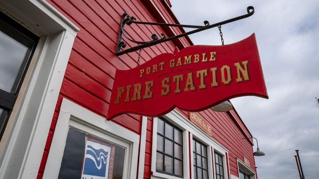 Port Gamble Fire Station
