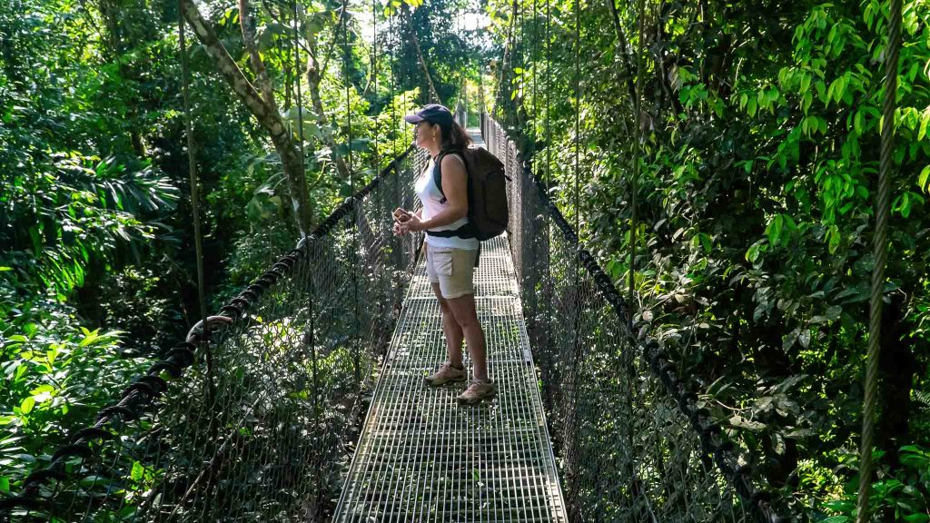 La Fortuna hanging bridge