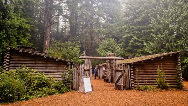 Escaping Wildfires in Fort Clatsop