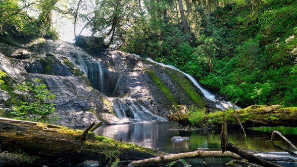 Lake Sylvia Falls