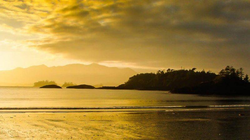 A Golden World on Vargas Island