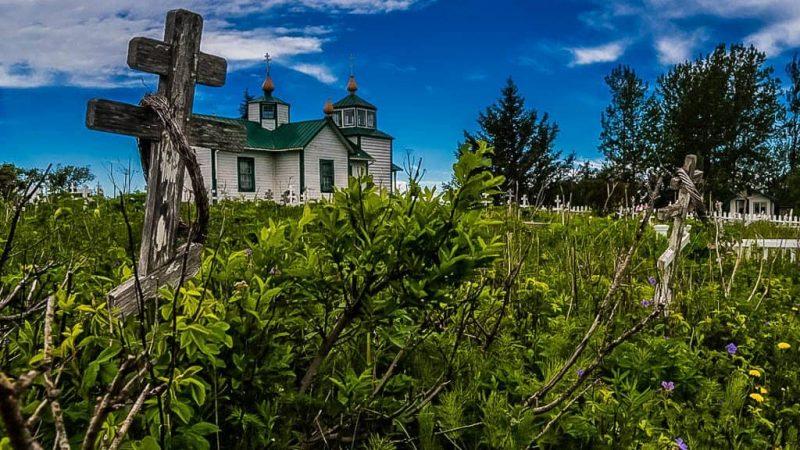 Ninilchik-Finding a Historic Russian Orthodox Church