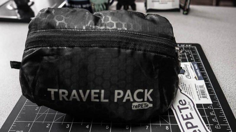 Travel Pack rePETe – Re-purposing Plastic Bottles