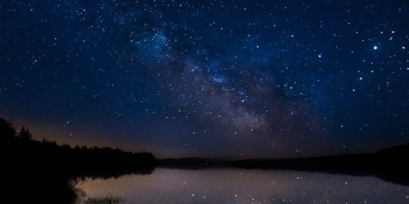 Milky Way Over Lake Ozette